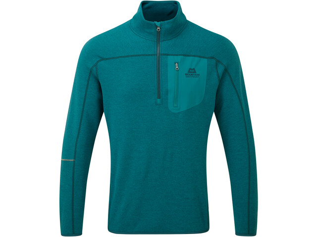 Mountain Equipment Integrity T-shirt zippé Homme, tasman blue